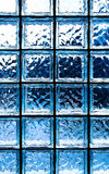 Blue glass squares texture Stock Image