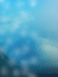 Blue glass texture. Background photo in plane Stock Images