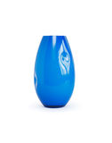 Blue Glass Vase Stock Image