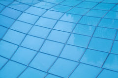 Blue glass wall background Royalty Free Stock Images