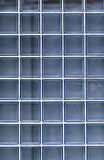 Blue glass wall Stock Images