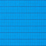 Blue glass walls. Royalty Free Stock Images
