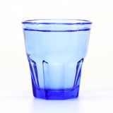 Blue Glass of Water Royalty Free Stock Images