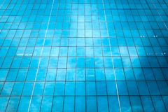 Blue glass windows. As the background Royalty Free Stock Photos