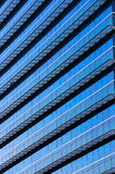 Blue Glass Windows Of Building Stock Photos