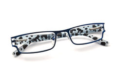Blue glasses Stock Photography
