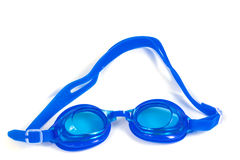 Blue Glasses for swimming Royalty Free Stock Photos
