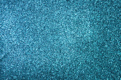 Blue glitter stock photos