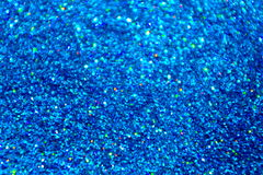 Blue Glitter Background stock photography