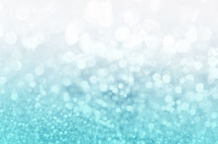 Blue glitter christmas 2016 Stock Photo