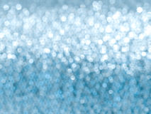 Blue glitter soft focus background Royalty Free Stock Images