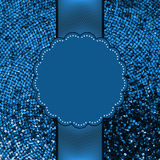 Blue glitter sparkles snow background. EPS 8 Royalty Free Stock Photo