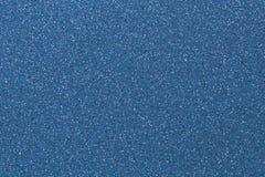 Blue navy glitter textured shiny backdrop Stock Images