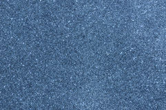Blue glitter texture background Royalty Free Stock Photography