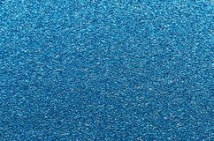 Blue glitter texture. Christmas or new year background for design. royalty free stock photos