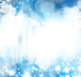 Blue glitters Royalty Free Stock Images