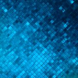 Blue glitters on a soft blurred background. EPS 10 Royalty Free Stock Image