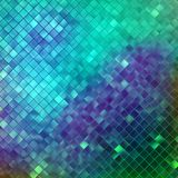 Blue glitters on a soft blurred background. EPS 10 Royalty Free Stock Photos