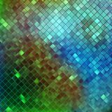 Blue glitters on a soft blurred background. EPS 10 Royalty Free Stock Photo