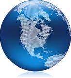Blue Globe vector illustration