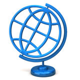 Blue globe Stock Photo