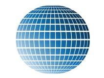 Blue globe Stock Photo
