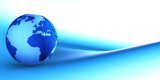 Free Blue Globe Stock Photo - 4847020