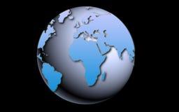 Blue globe Royalty Free Stock Photo