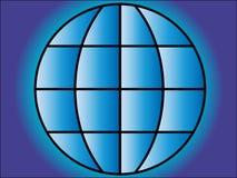 Blue globe. Stock Photo