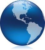 Blue Globe Stock Photography