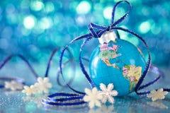 Blue globe. Stock Image