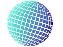 Free Blue Globe With Square Pattern Stock Photo - 7473600