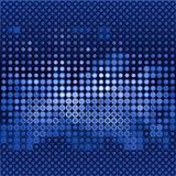 Blue gloss dots Royalty Free Stock Photo