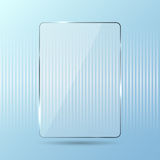 Blue glossy background Royalty Free Stock Photos
