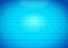 Blue glossy floor Stock Photos