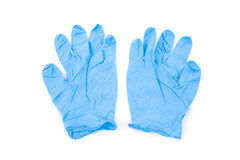 Blue Glove Royalty Free Stock Photography