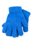 Blue Glove Stock Photo