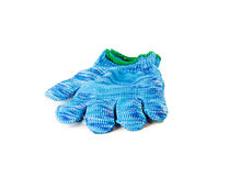 Blue glove Royalty Free Stock Photos