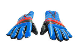 Blue gloves Royalty Free Stock Photo