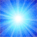 Blue glow background Royalty Free Stock Photography