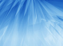 Blue glow feathers Stock Photos