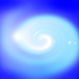 Blue glow spiral background Royalty Free Stock Photo