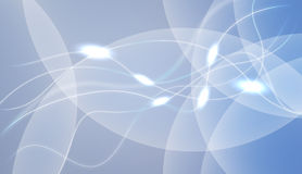 Blue Glowing Background Stock Image