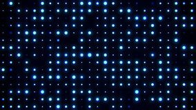 Blue Glowing Digital Dots Code VJ Loop Motion Background