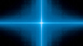 Blue glowing futuristic technology background Stock Images