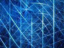 Blue glowing futuristic virtual reality mesh Royalty Free Stock Photo