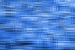 Blue glowing glass background. Royalty Free Stock Images