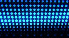 Blue Glowing Neon Circles Abstract Motion Background VJ Loop