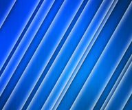 Blue Glowing Stripes Background Stock Photos