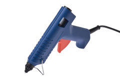 Blue glue Gun Stock Photography